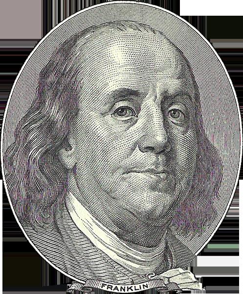 Бенджамин Франклин Benjamin Franklin доллар dollar