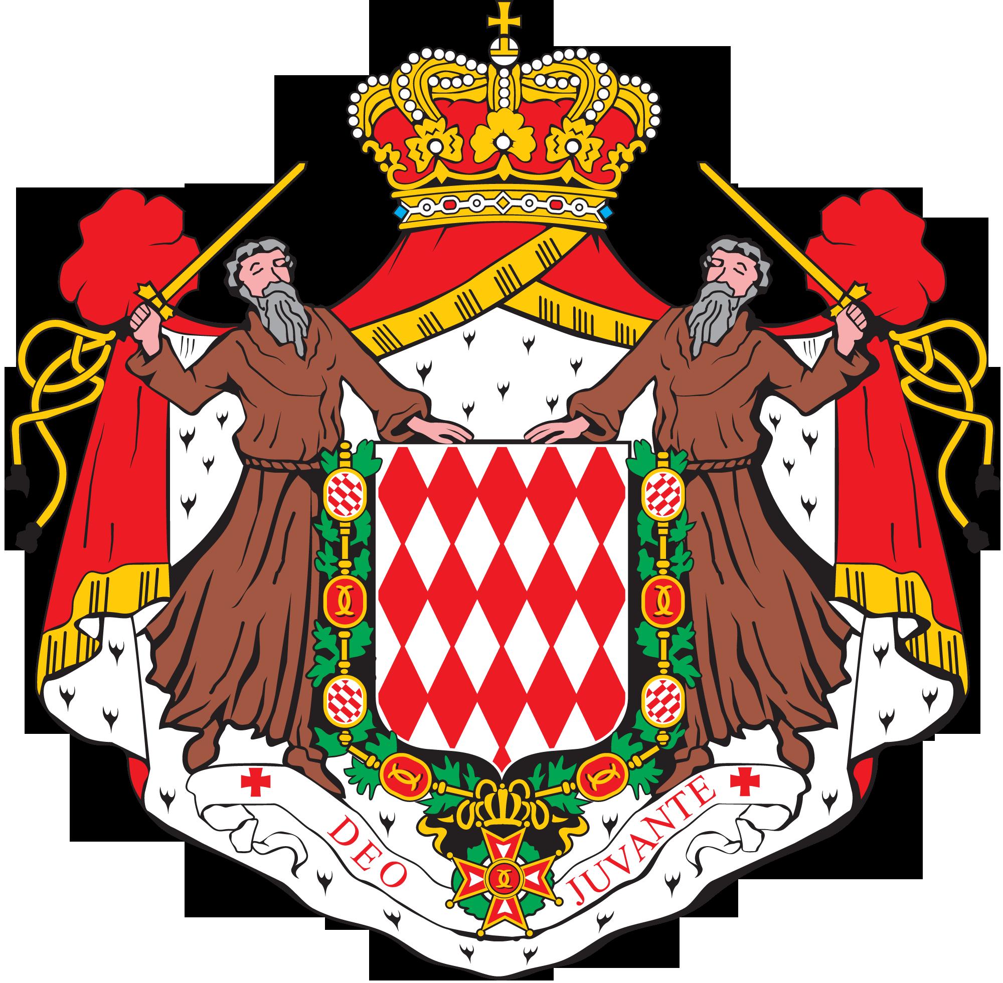 герб Монако Monako