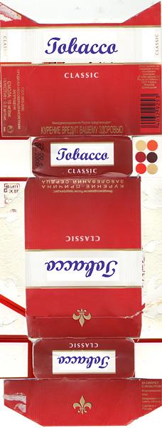 этикетка на сигареты