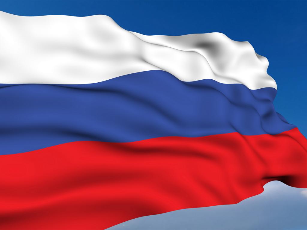 флаг России - обои на рабочий стол