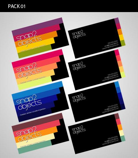 радужные визитки