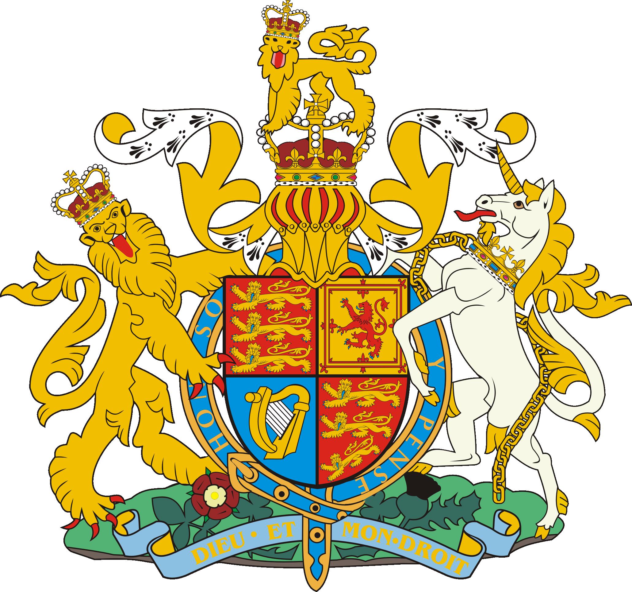 герб Соединенного Королевства