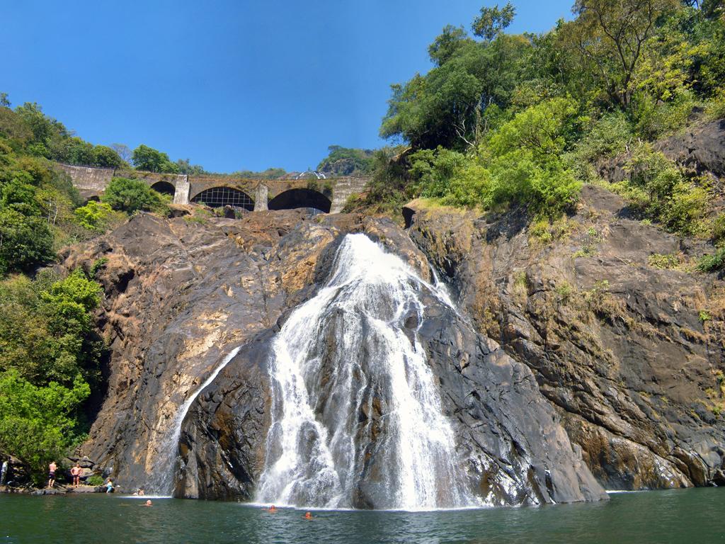 Индия, водопад