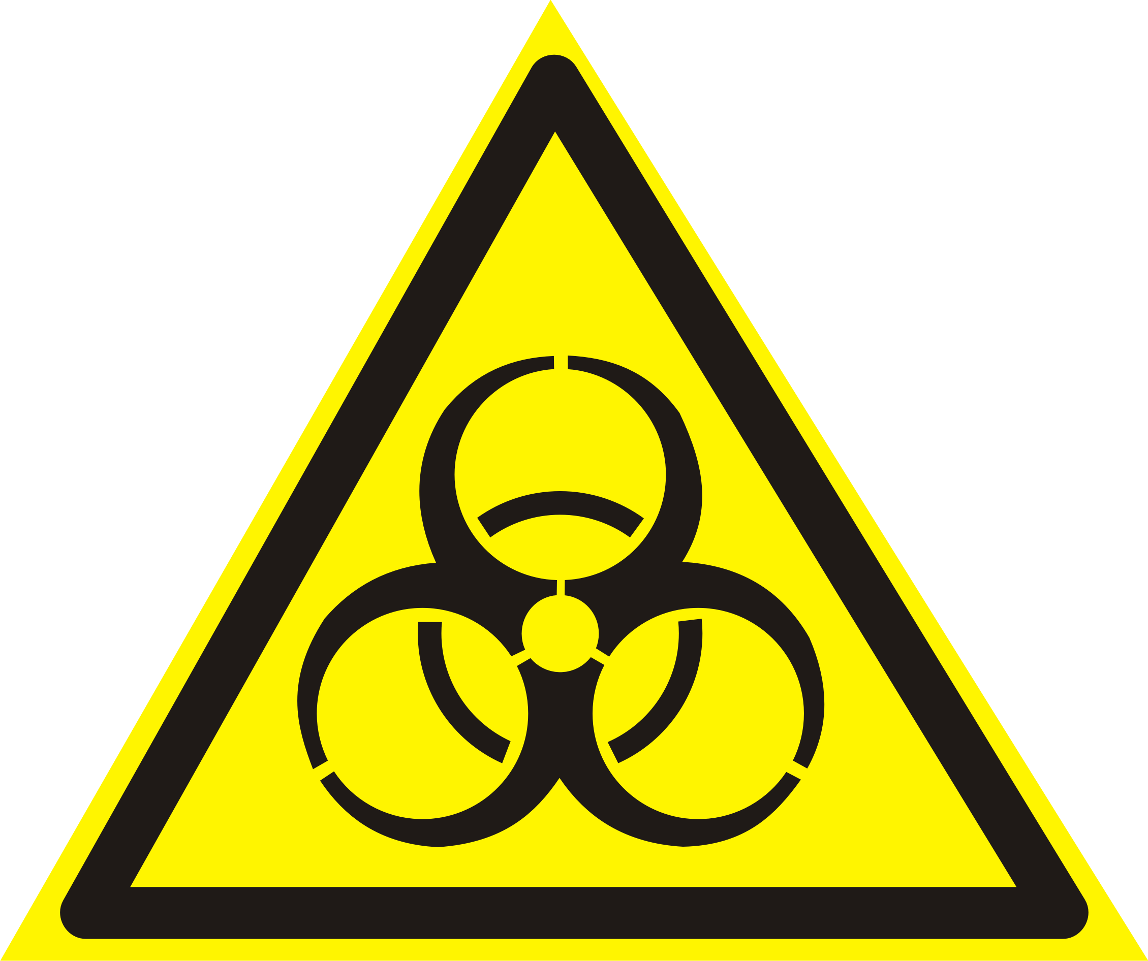 знак Инфекционные вещества