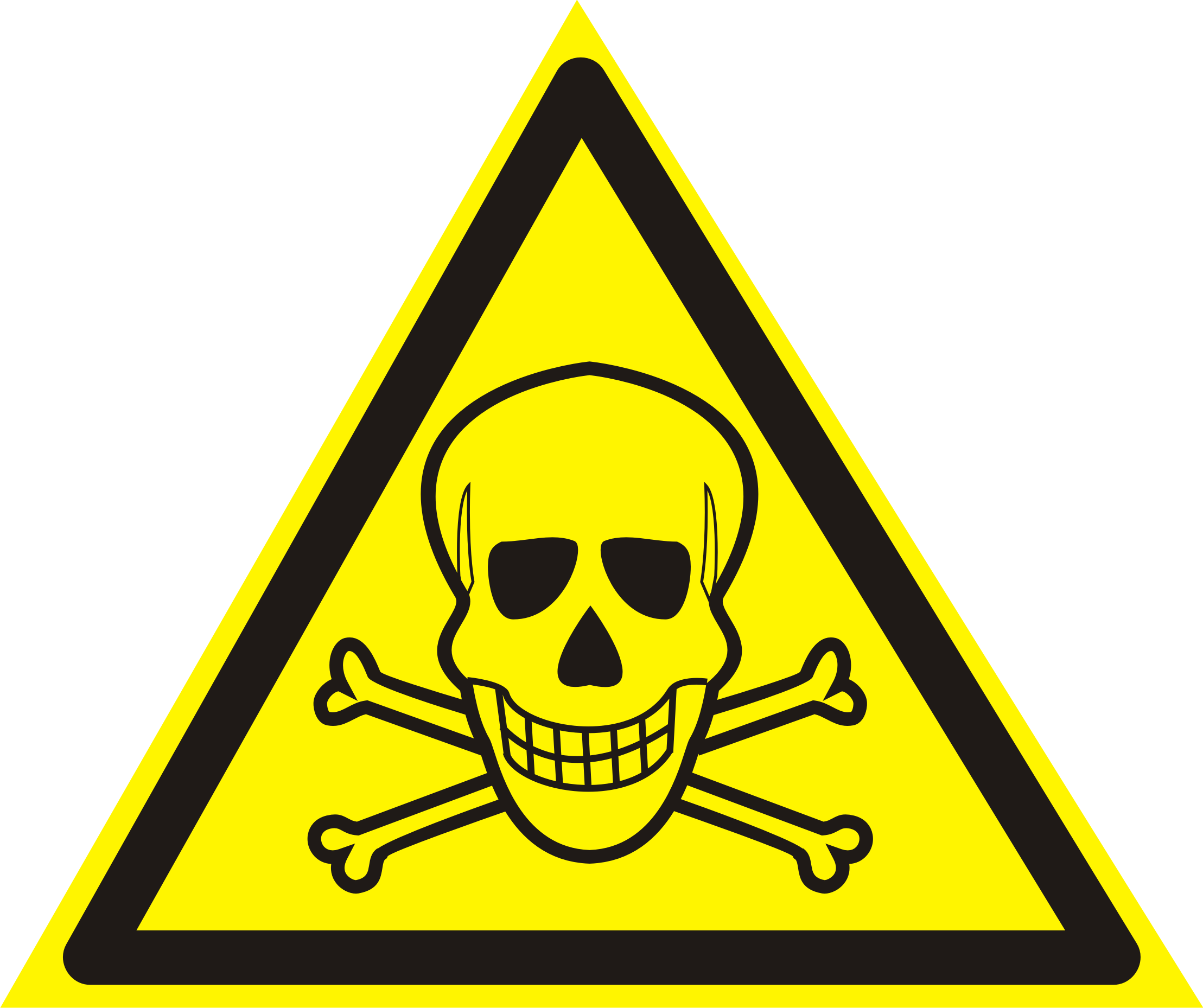 череп - опасно для жизни