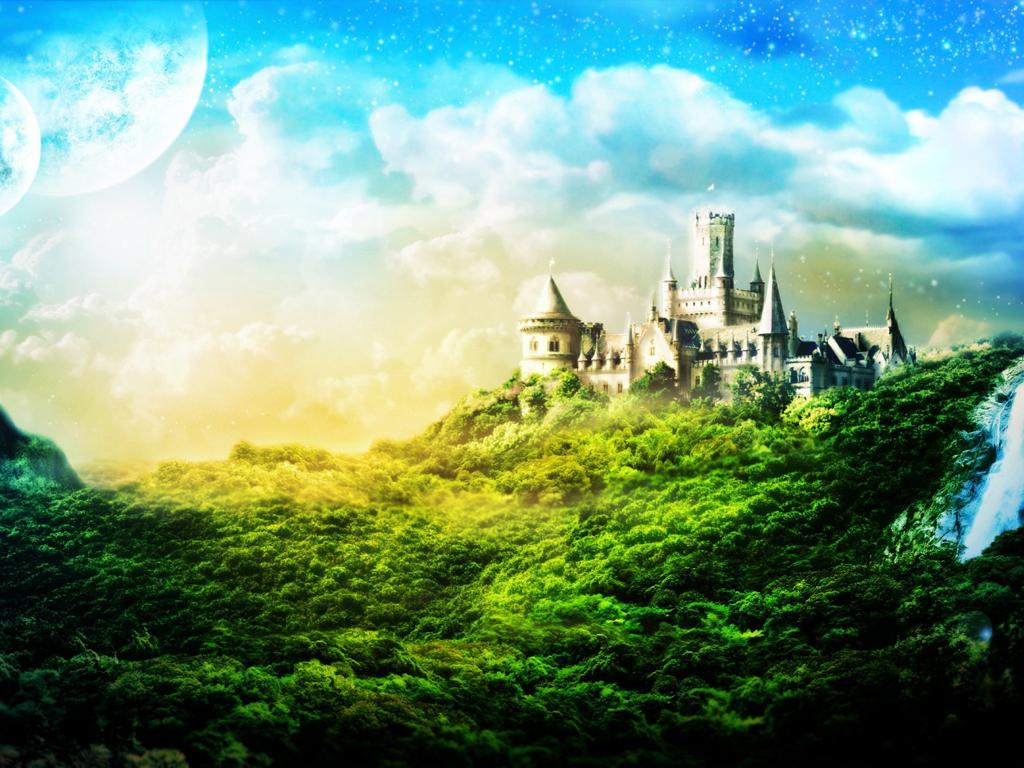 Замок из сказки