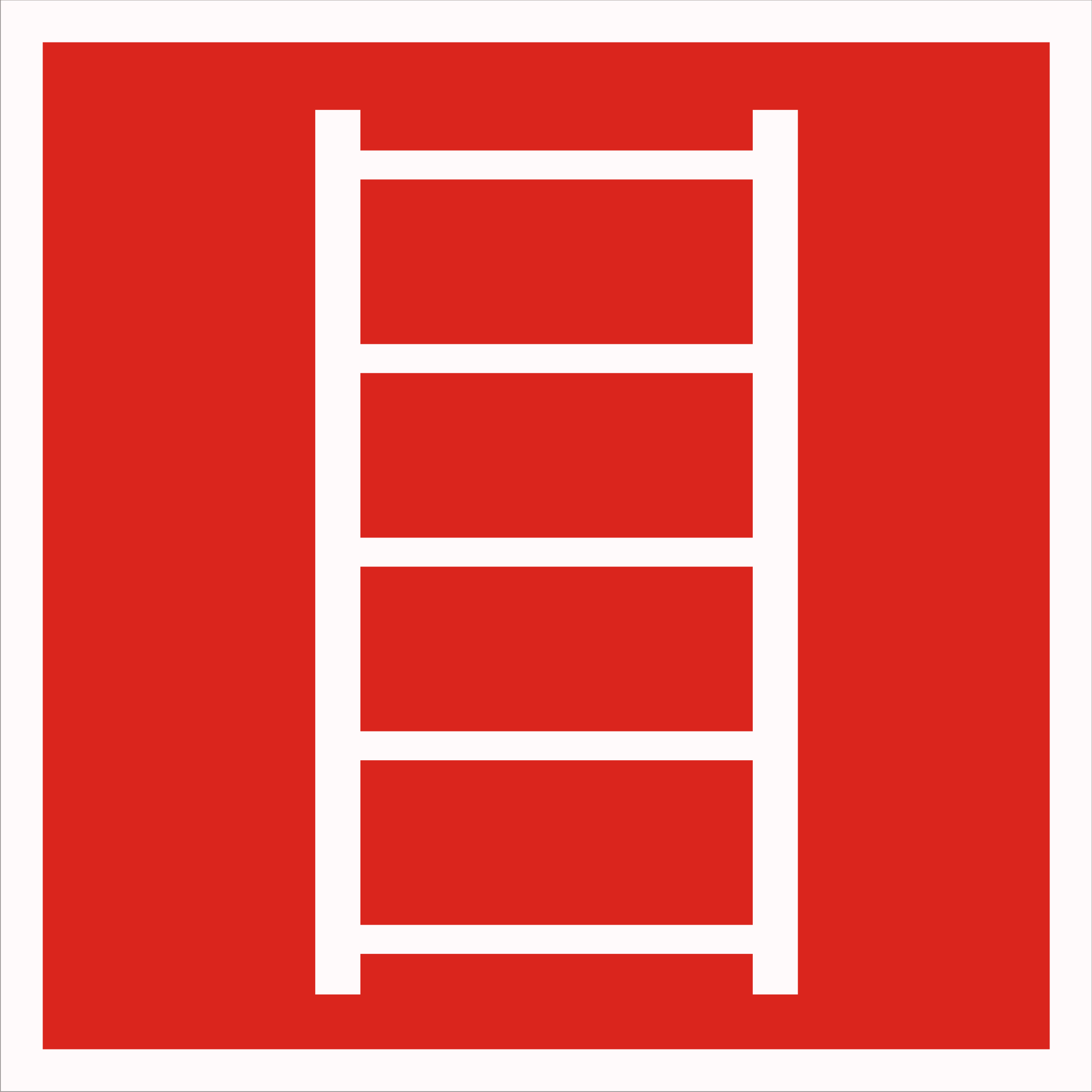 Знак пожарной лестницы