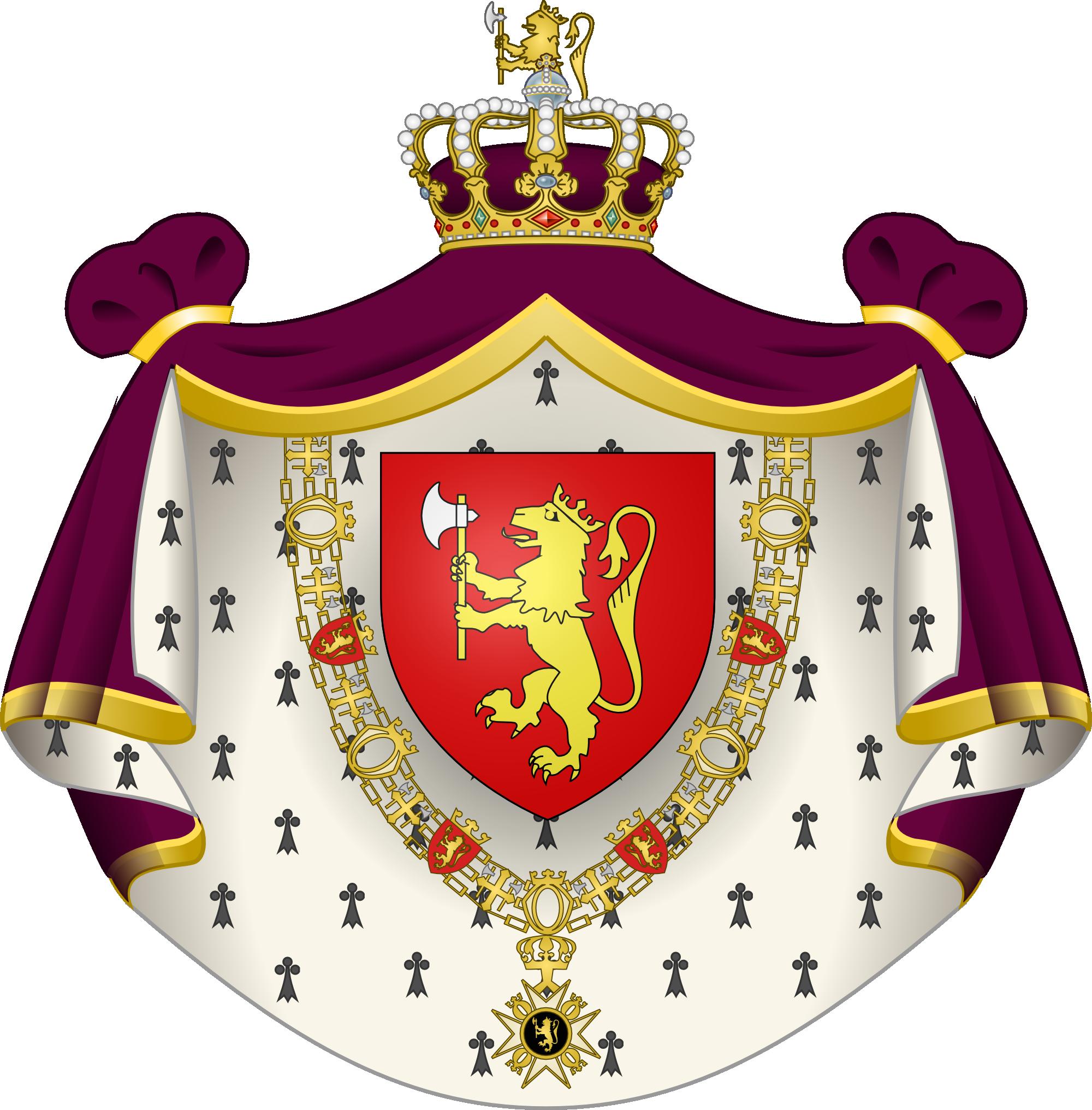 Королевский норвежский герб