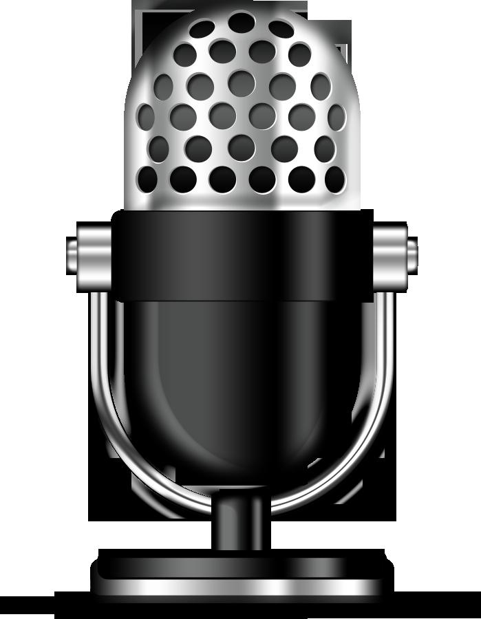 Ретро-микрофон