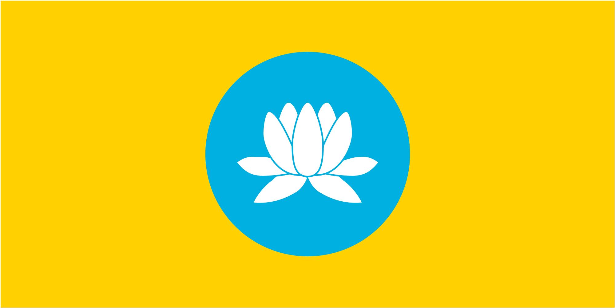 флаг Калмыкии