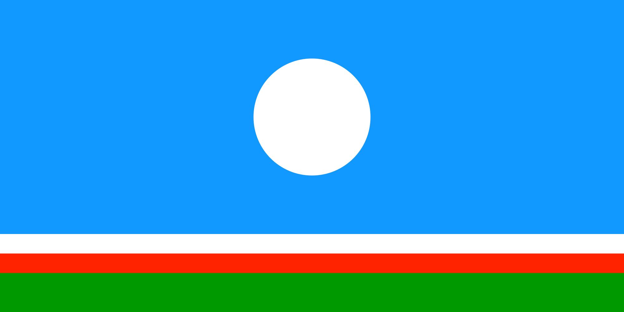 Флаг Республики Саха