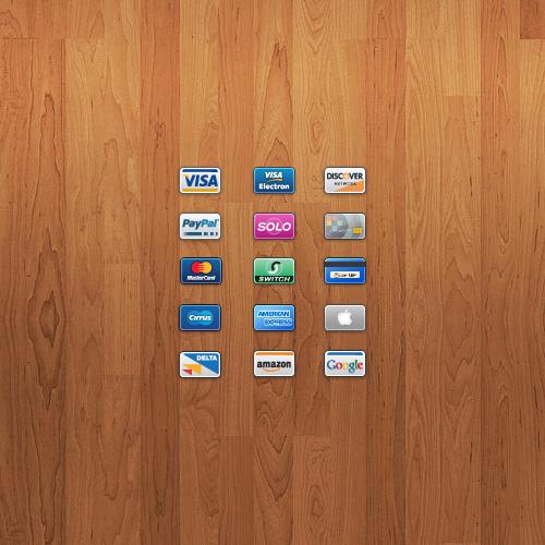 иконки платежных систем