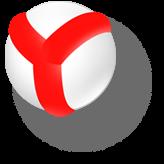 логотип браузера Яндекса