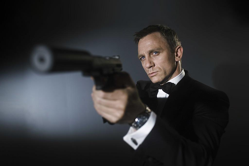 Обои для рабочего стола Дэниэл Крэйг, агент 007