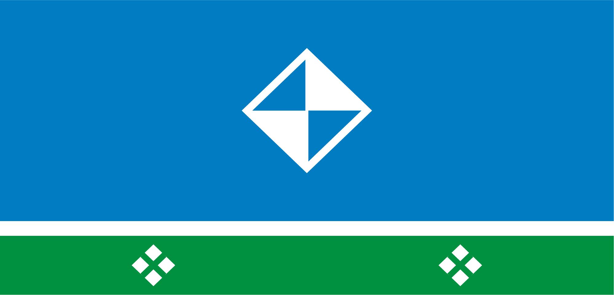 Флаг Мирного (Якутия)