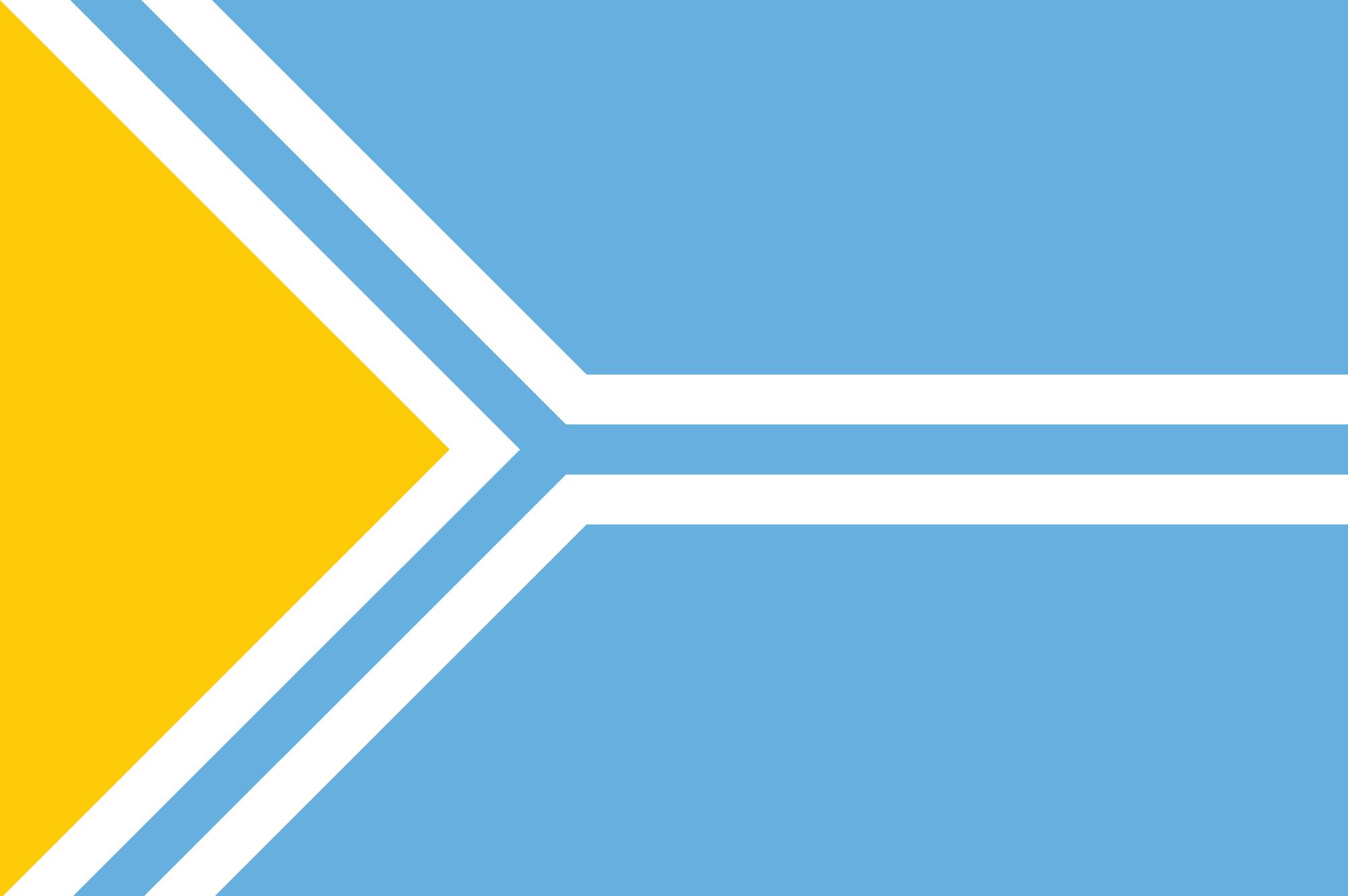 флаг Тывы