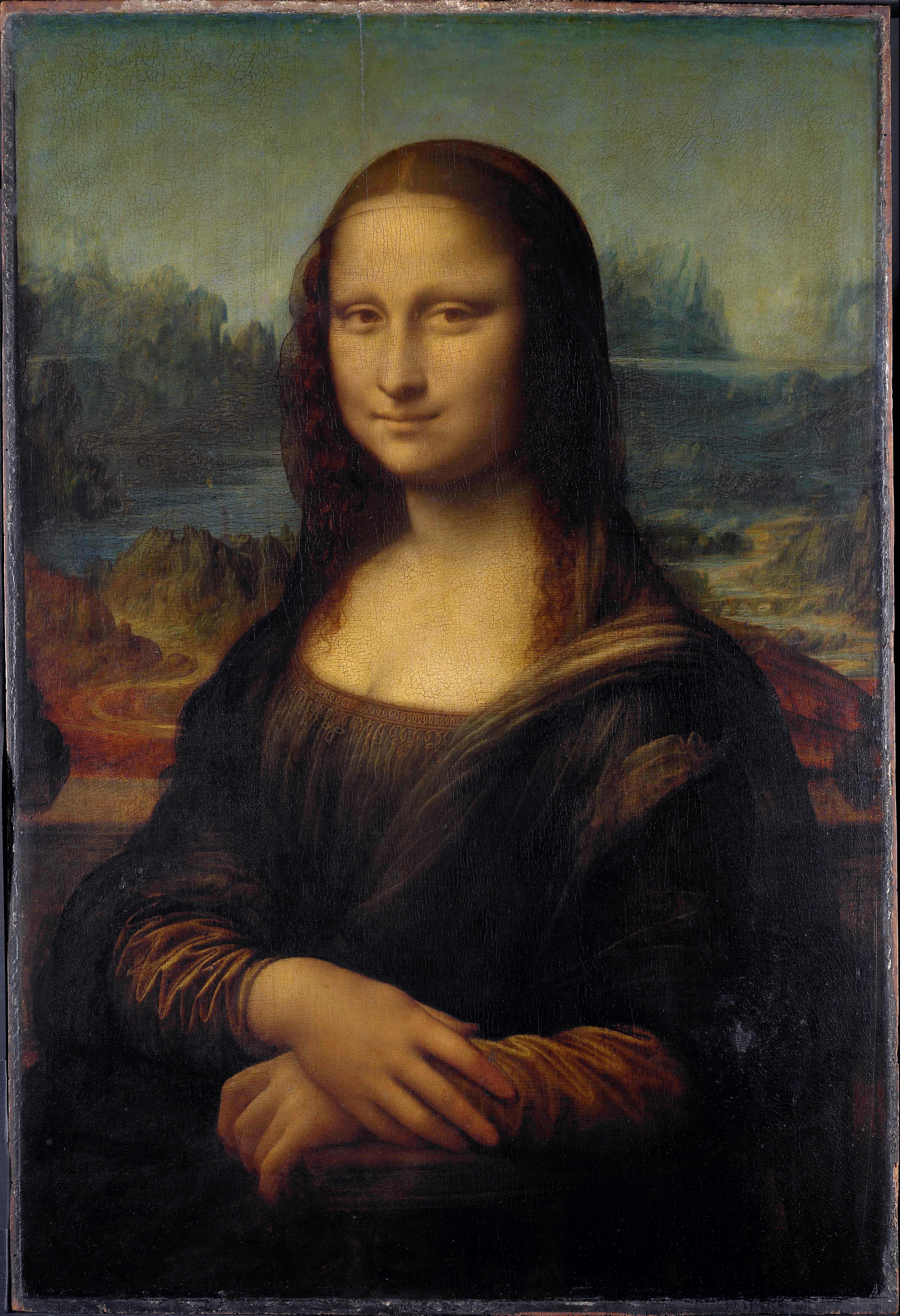 Картина леонардо да винчи мона лиза картинка