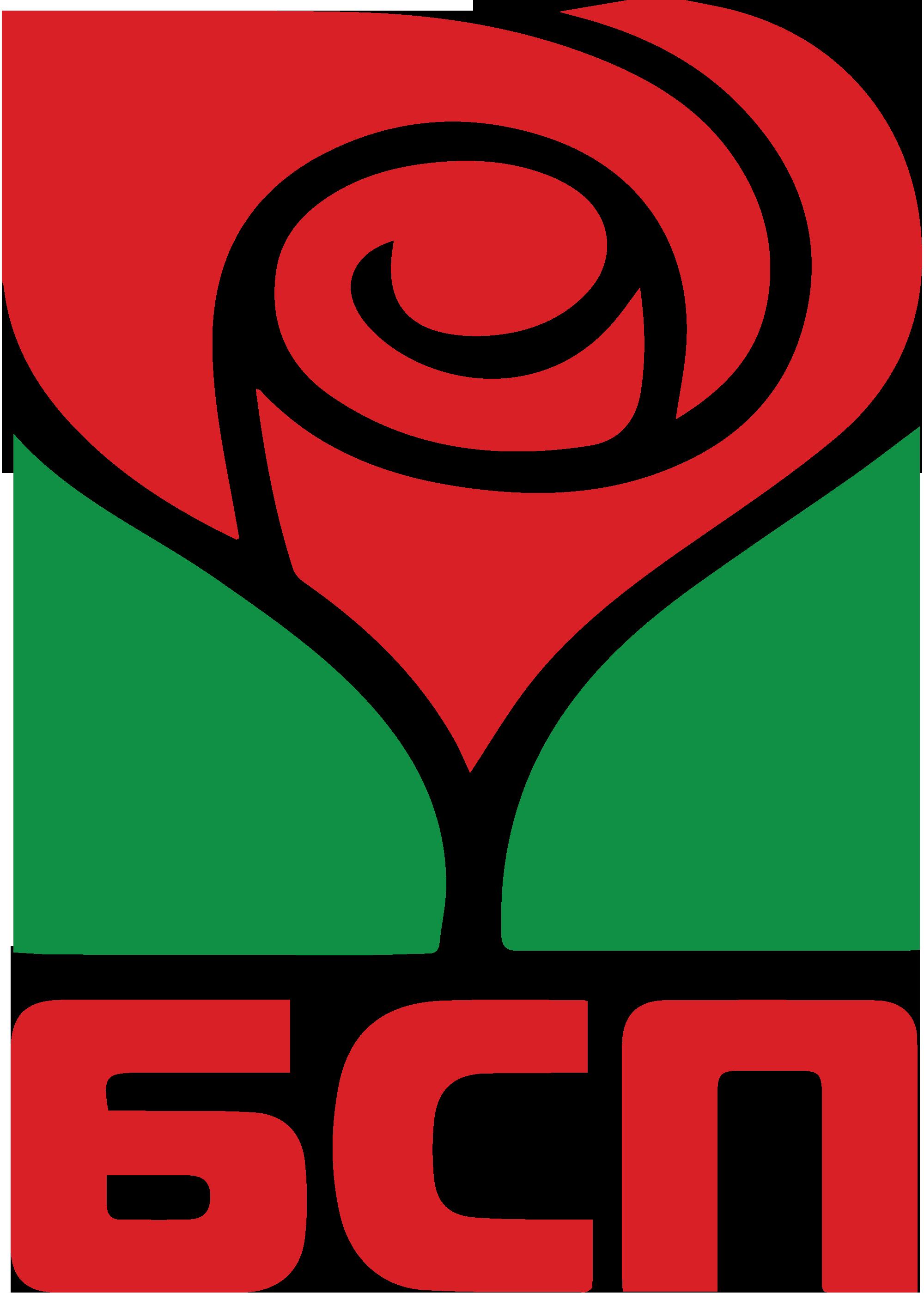 Эмблема Болгарской социалистической партии