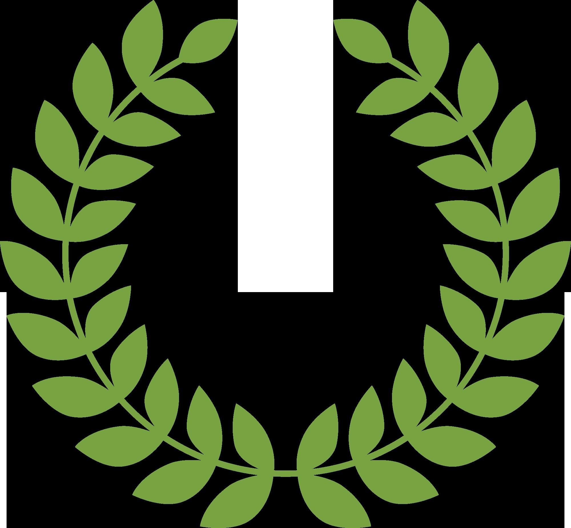 лавровый венок на медаль