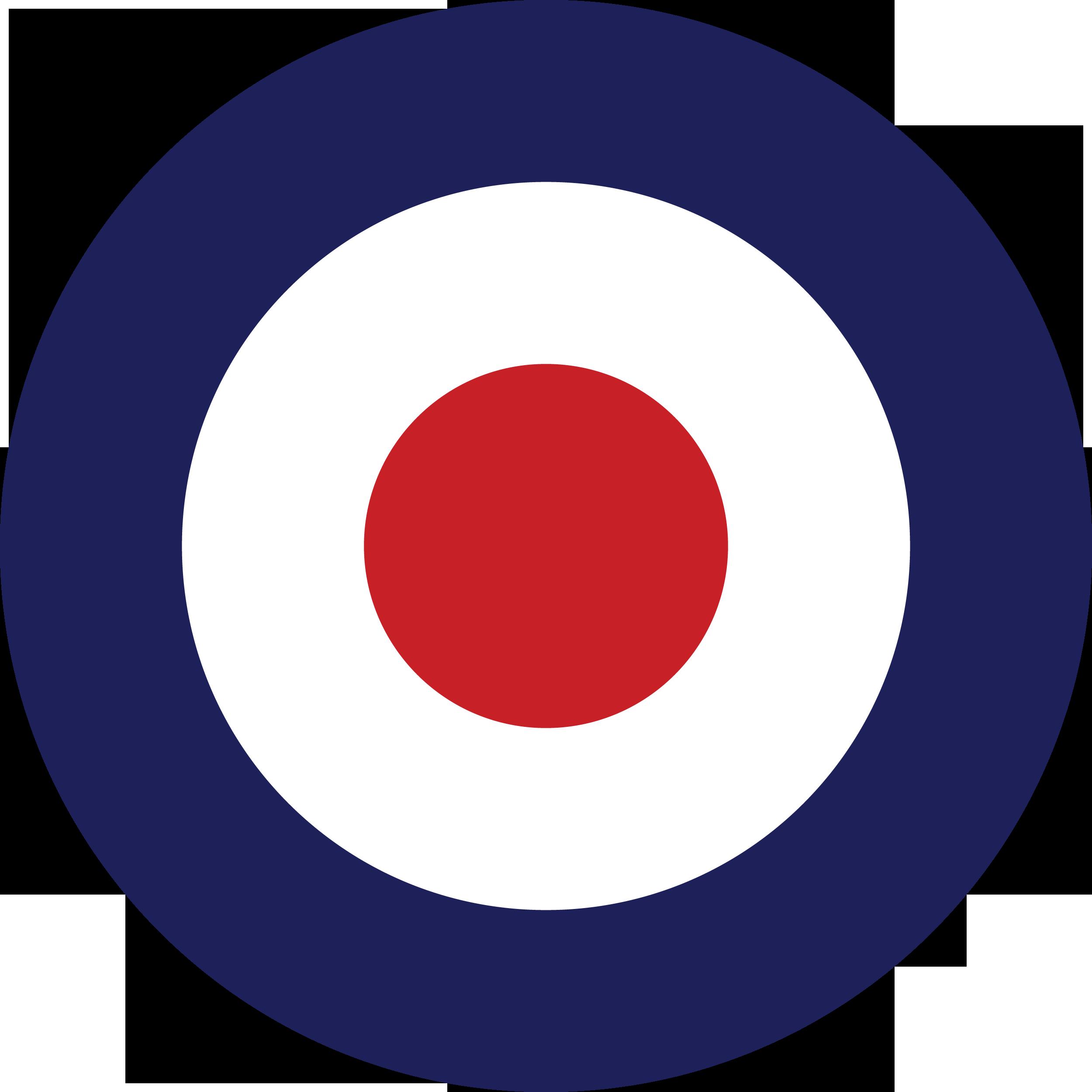 British Roundel Рондел (mod target) векторный