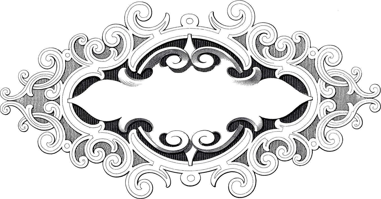 Рамка-орнамент (виньетка)