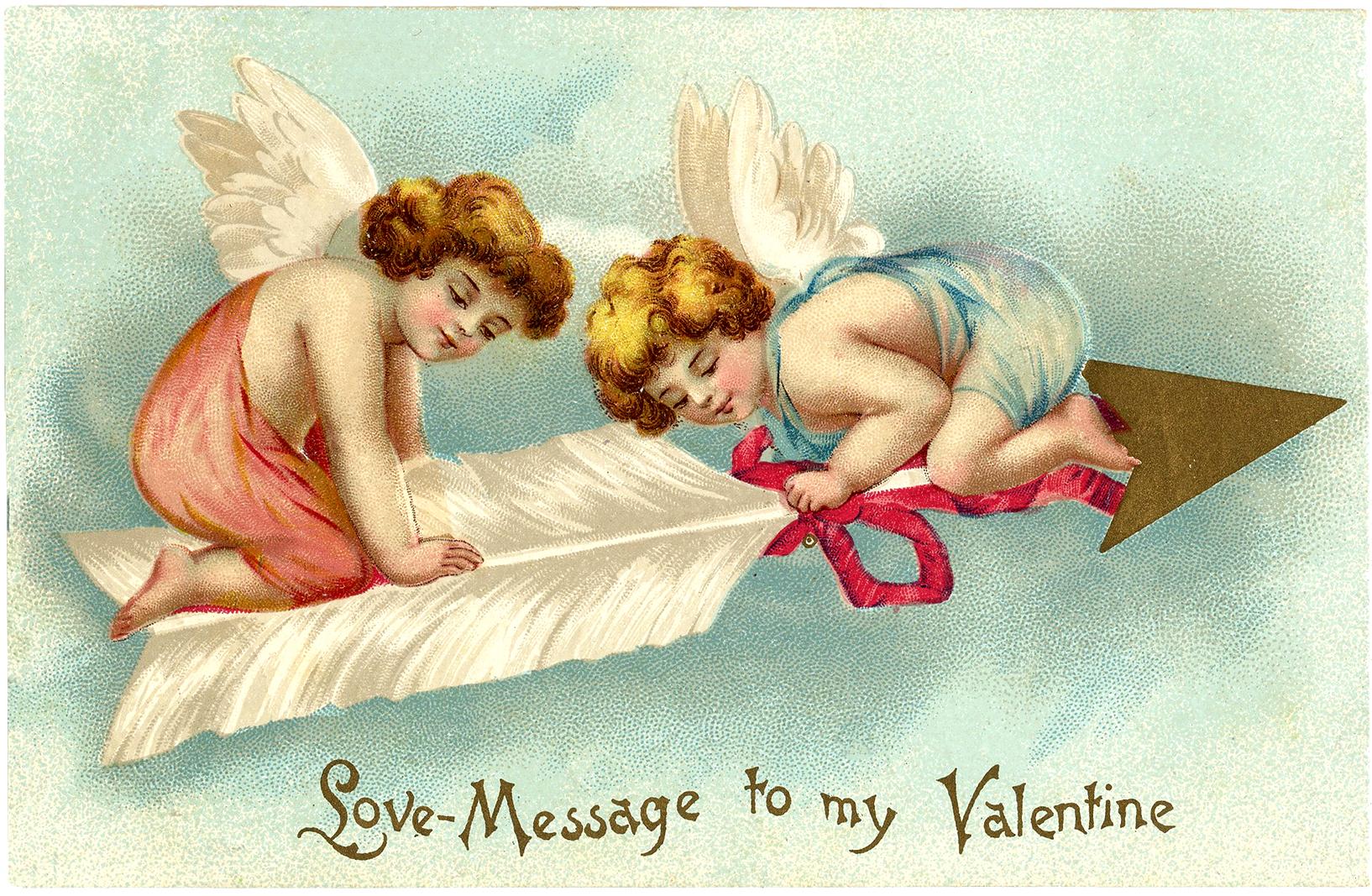 картинки ангелов ко дню святого валентина важно, что
