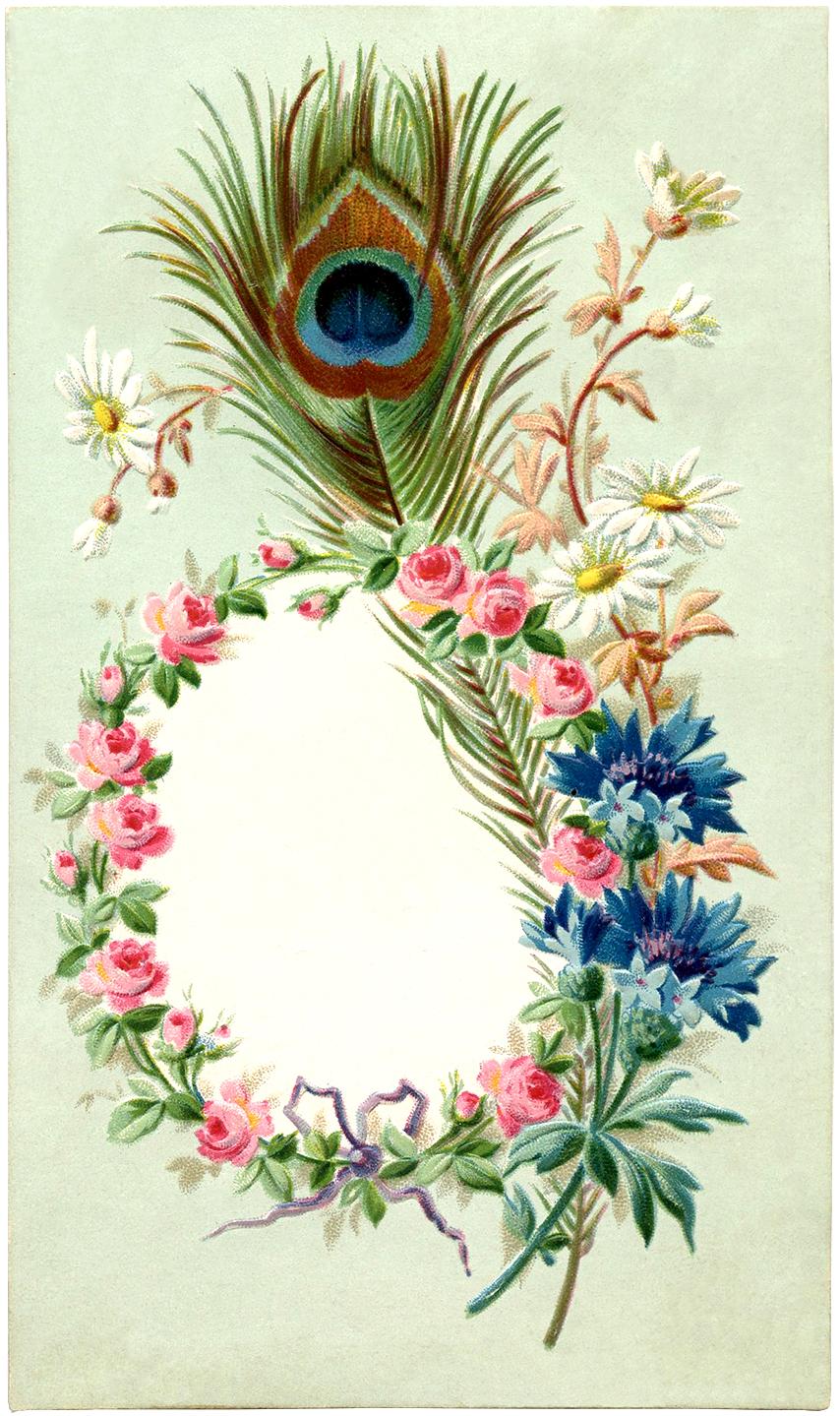 Винтажная открытка на 8 марта