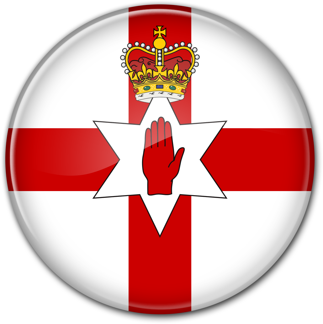Круглый флаг Северной Ирландии «Ольстерское знамя»