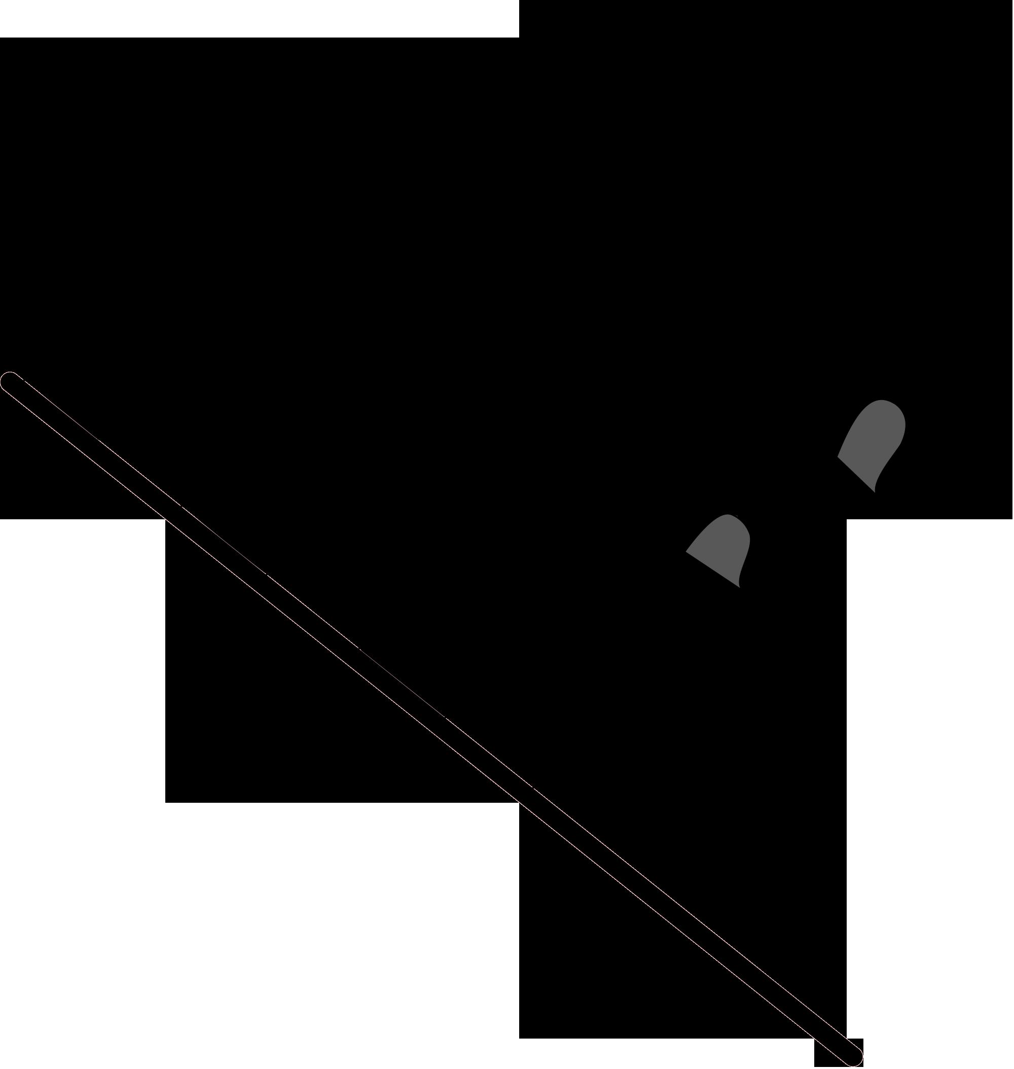 Клетчатый развивающийся финишный флаг
