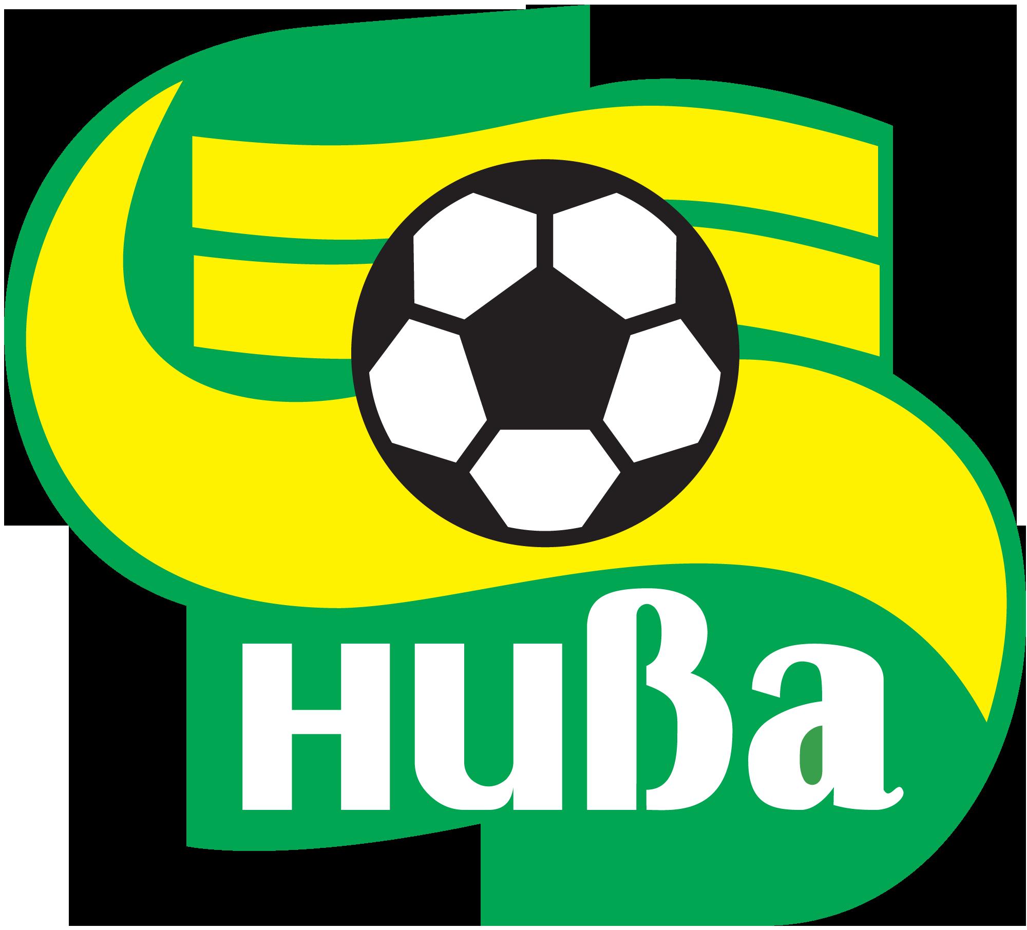"""Векторная эмблема футбольного клуба """"Нива"""""""
