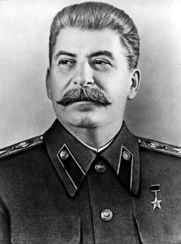 Фотопортрет Сталина И. В. с высоким разрешением
