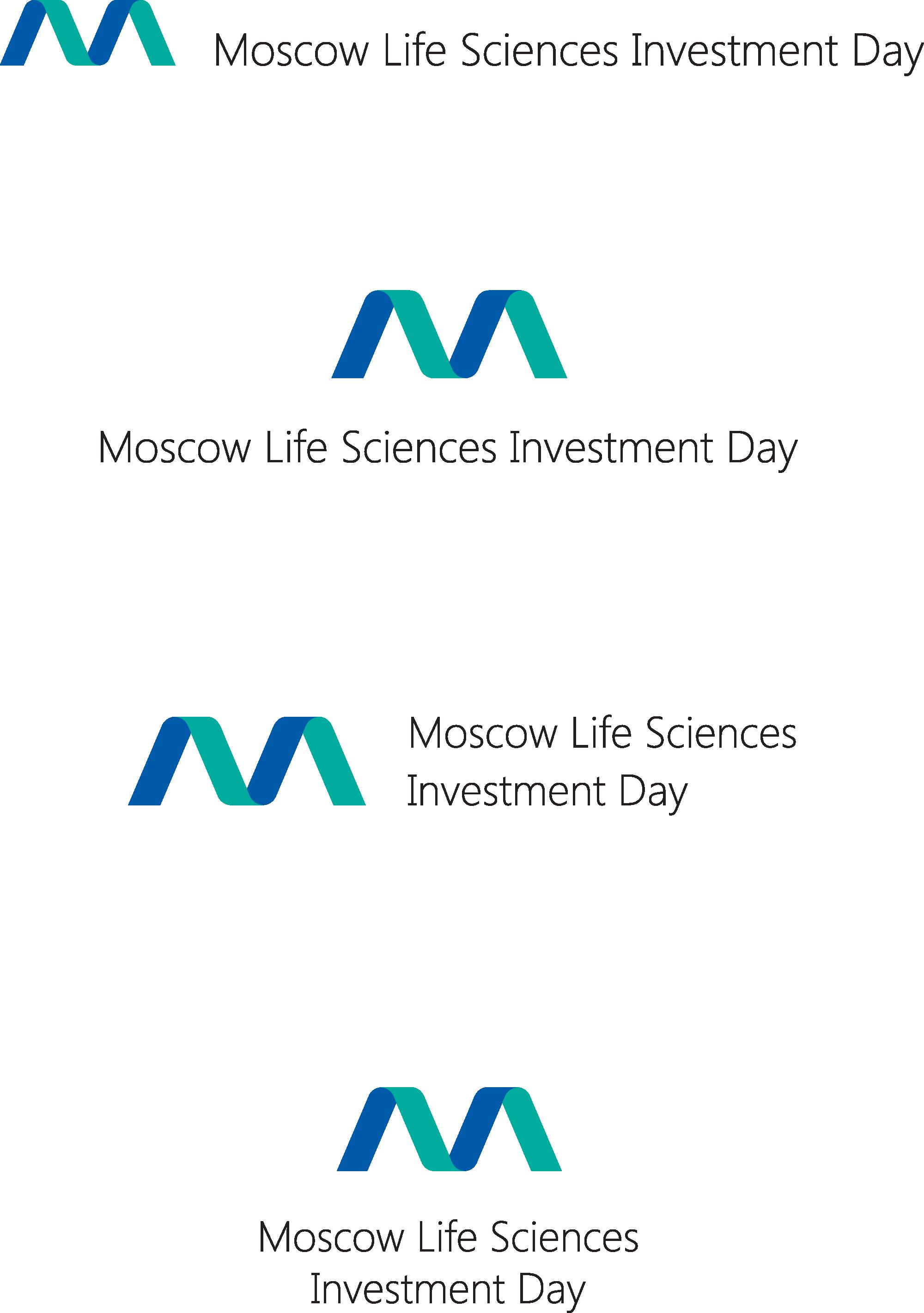"""Векторный логотип Международной инвестиционно-отраслевой конференции """"Moscow Life Sciences Investment Day"""""""