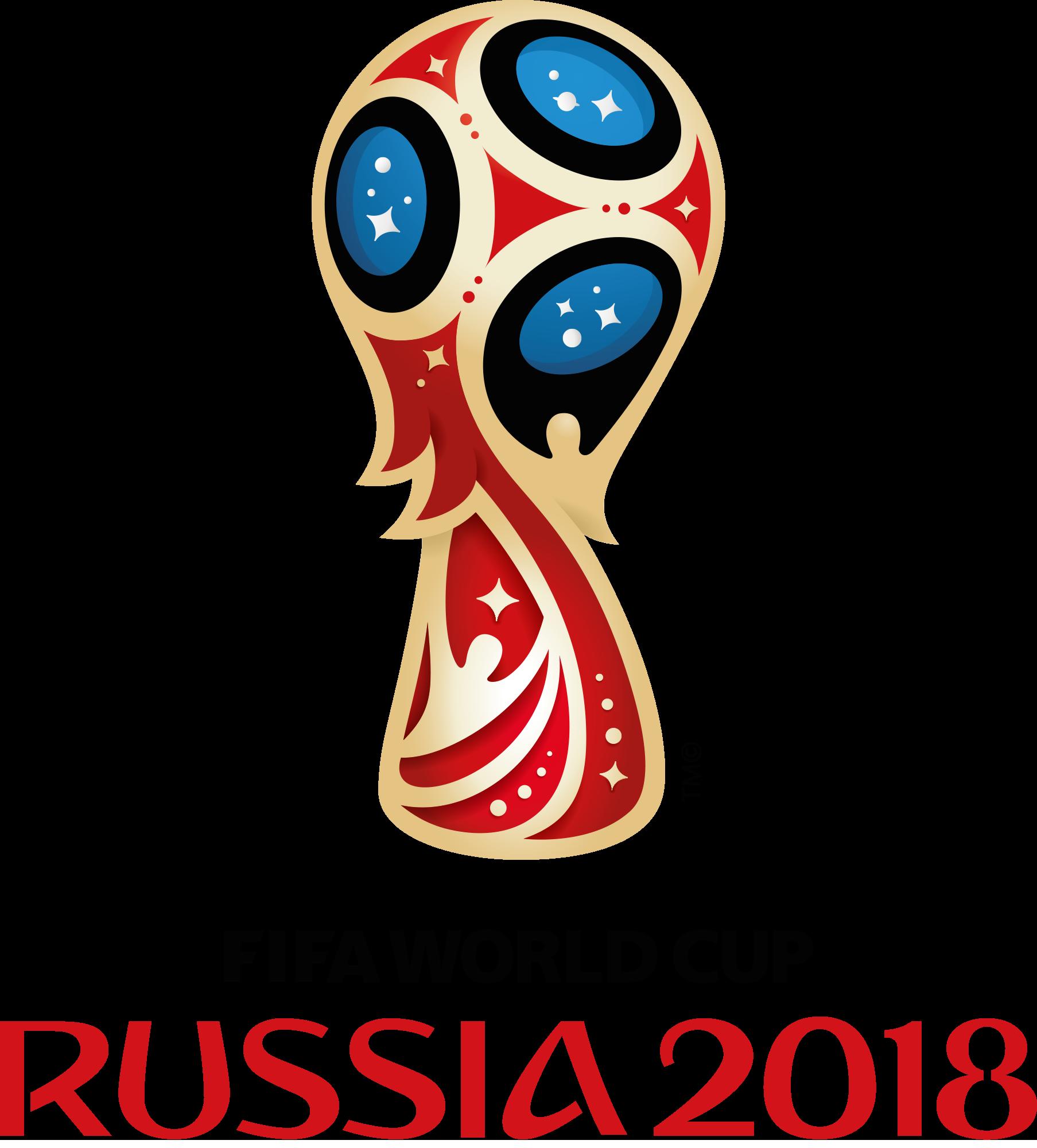 Эмблема (логотип) Чемпионата мира по футболу 2018 в векторном формате (FIFA World Cup 2018 Logo)
