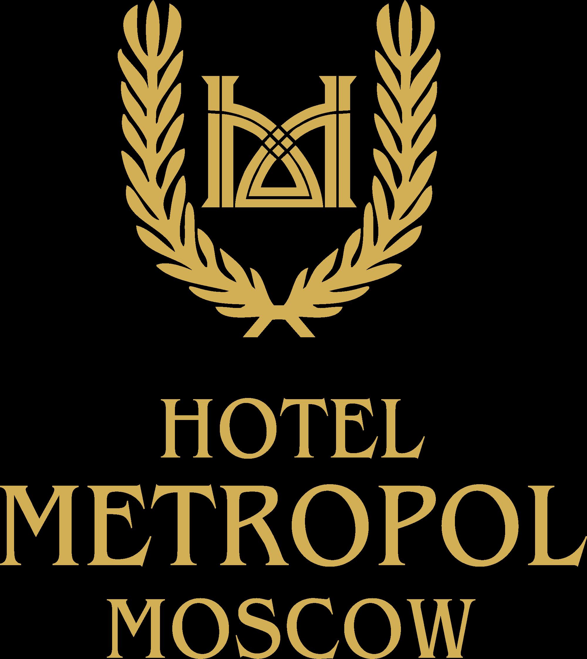 """Логотип отеля (гостиницы) """"Метрополь"""" в Москве (Hotel Metropol Moscow logo)"""