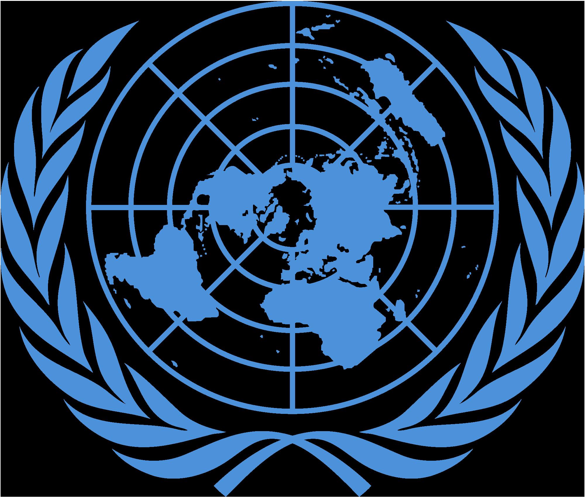Эмблема (логотип) организации объединенных наций