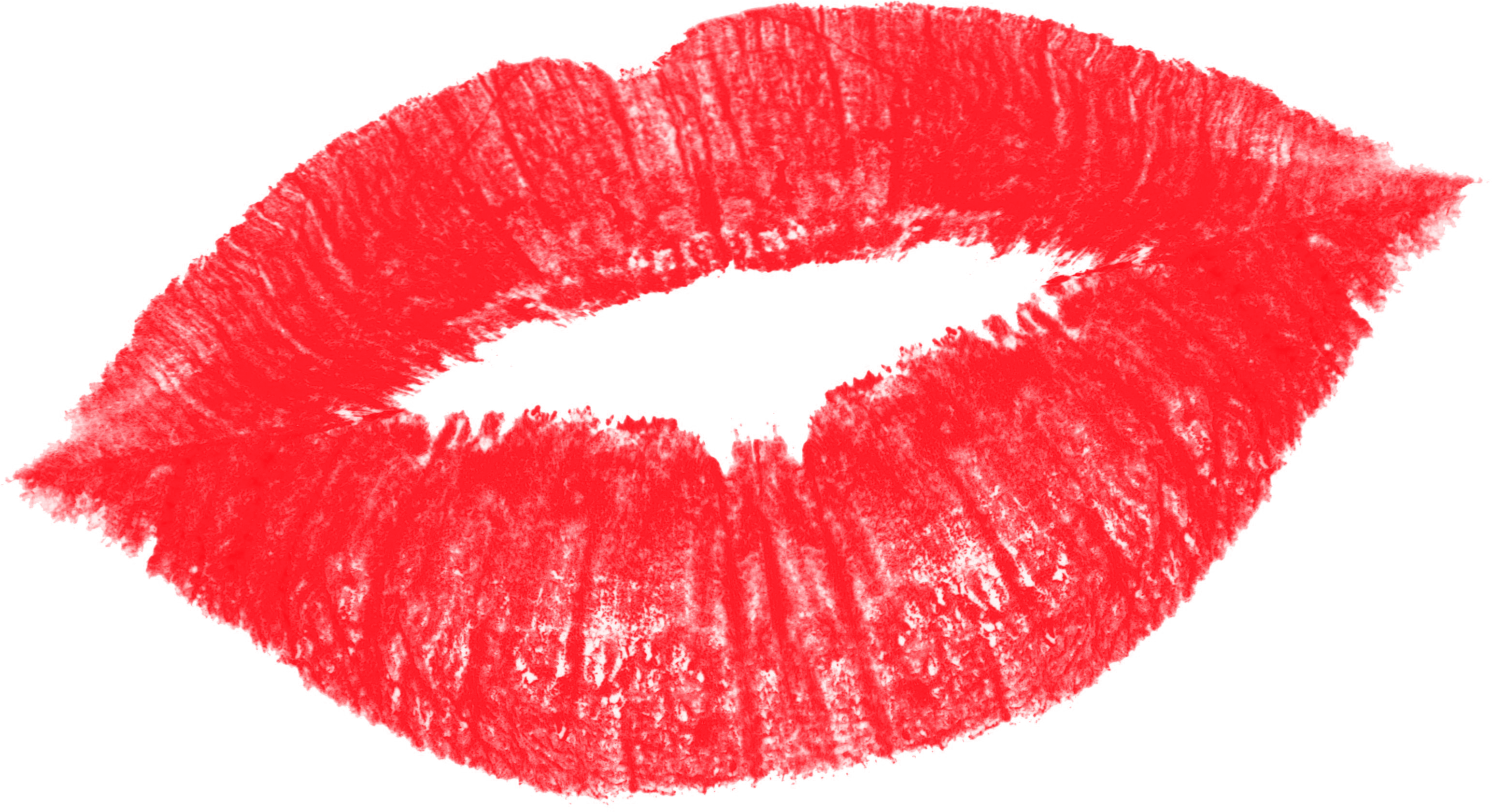 Женские губы, поцелуй - прозрачный png с большим разрешением