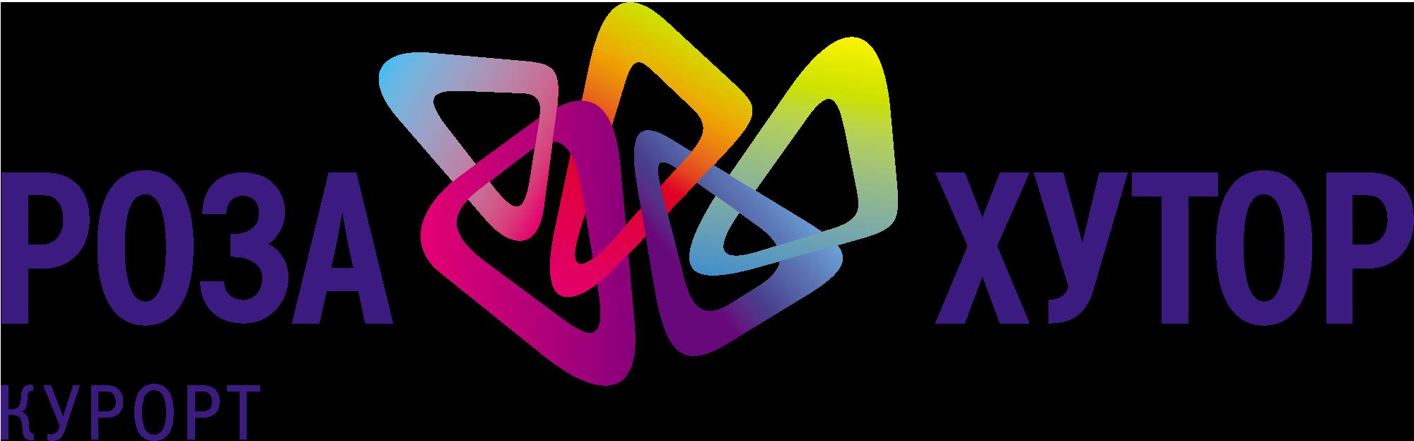 логотип курорта Роза Хутор