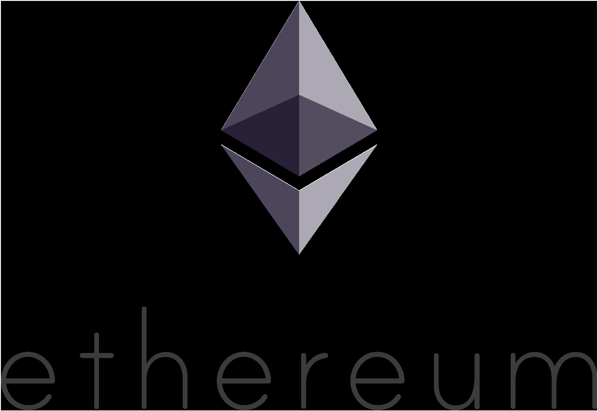Векторный логотип Ethereum (эфира, эфириума)