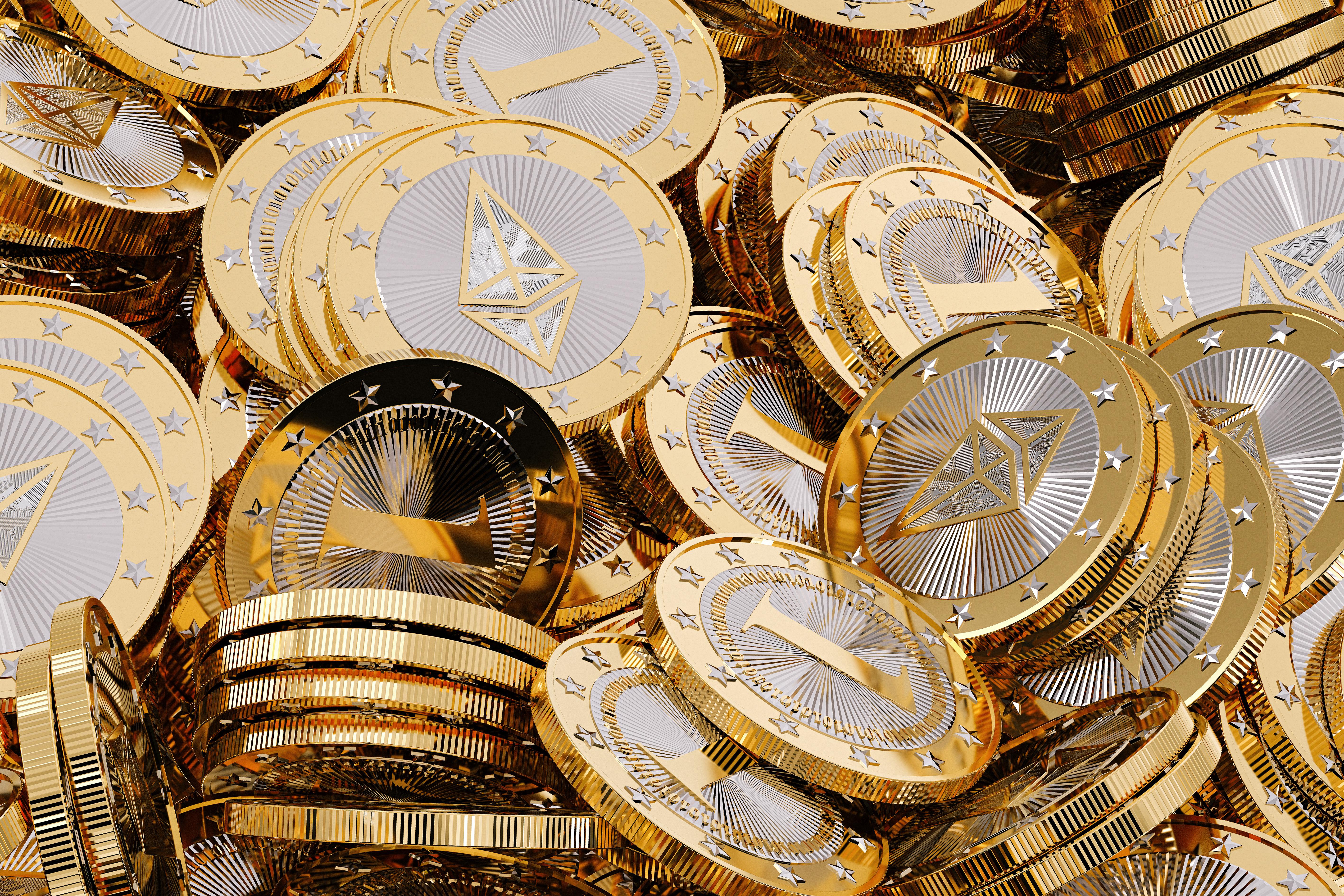 Ethereum монеты
