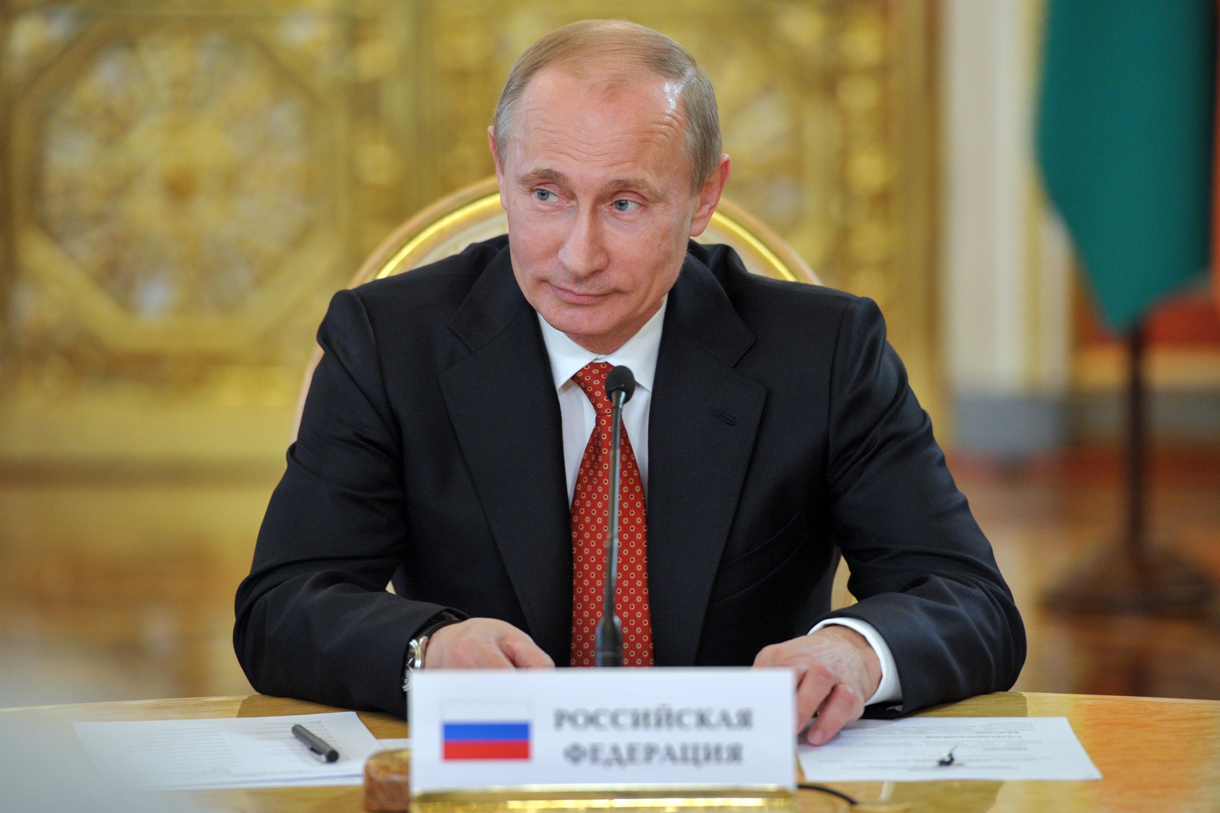 Портрет ироничного Владимира Путина