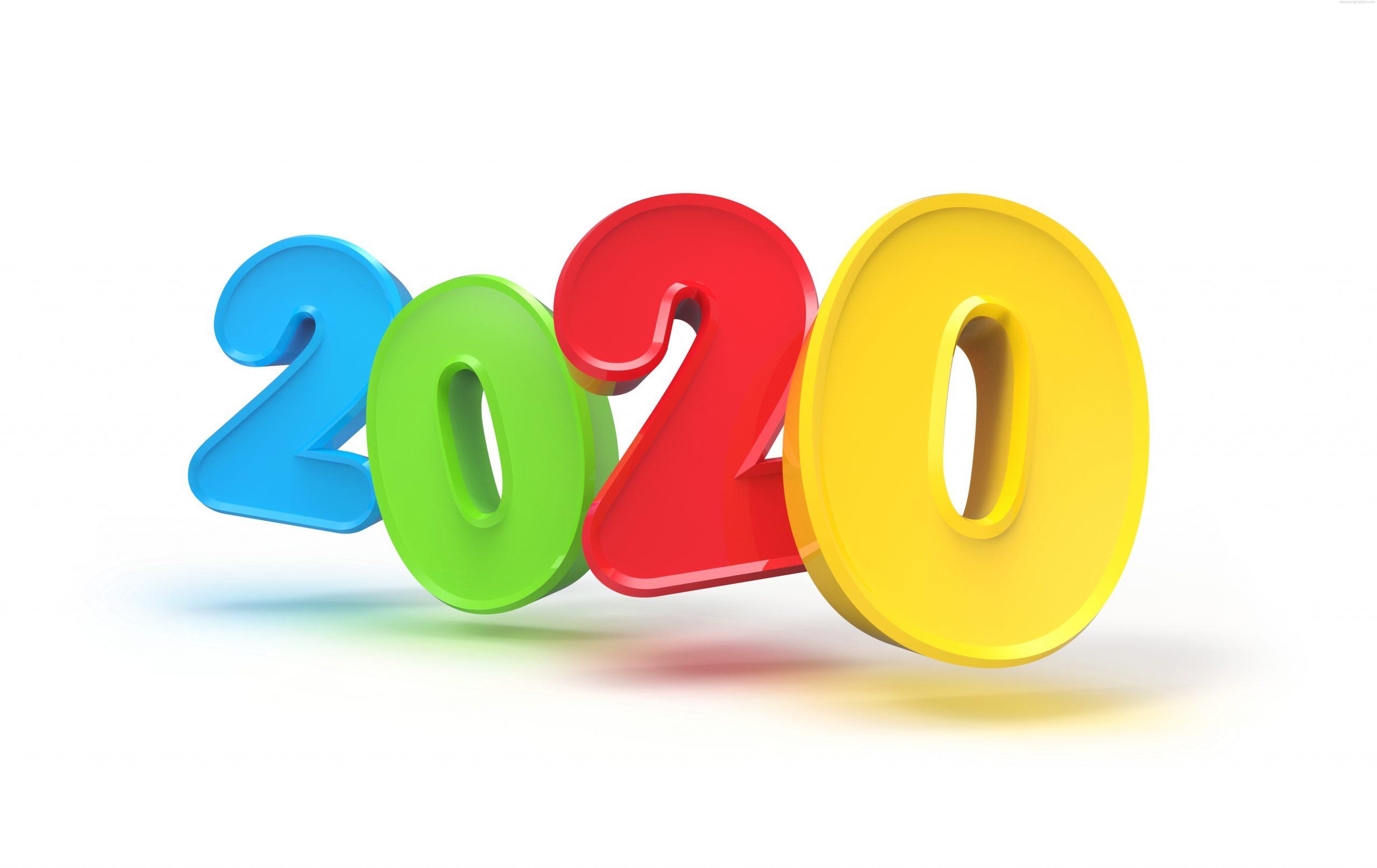 Новый год 2020 фон